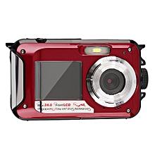 Digital Camera Waterproof 24MP MAX 1080P Double Screen16x Zoom Camcorder