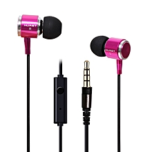 3.5mm headphone with Mic Sport Headset In Ear Earphone Music Earbuds for Iphone