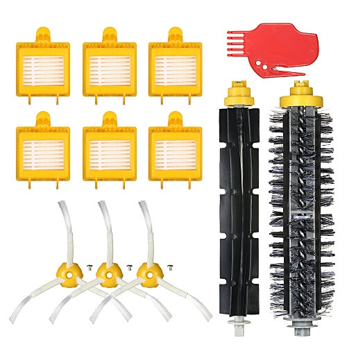d20d4806310 ... Kit for iRobot Roomba 700 Series 700 760 770 780 790 Vacuum Cleaner--  Bristle Brush + Flexible Brush + Side Brushes + HEPA Filter + Cleaning Tool