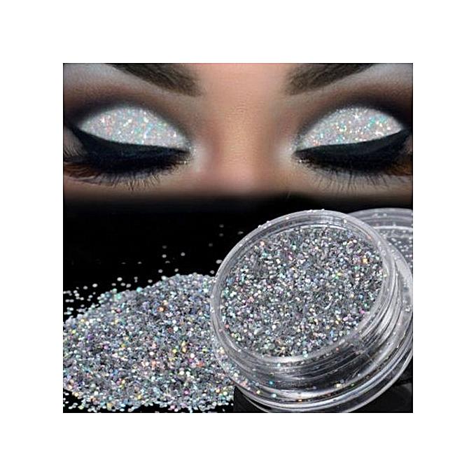 Qibest Bluerdream Sparkly Makeup Glitter Loose Powder Eyeshadow