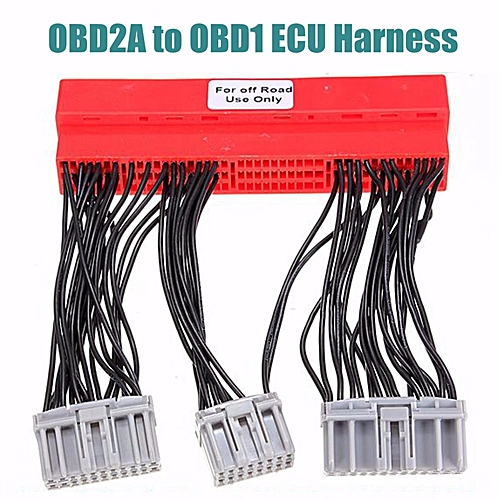 Pleasant Generic Obd2A To Obd1 Ecu Adapter Jumper Conversion Wire Harness For Wiring Database Obenzyuccorg