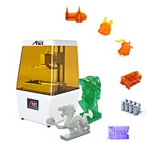 Anet N4 UV LCD 3D Printer Machine Fully Assembled Innovation with 2K HD 3.5 Inch Smart Colored Touchscreen U Disk Off-line Print Printing Size 4.72 * 2.56 * 5.43 Inch