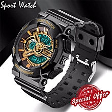 2018 New Brand Smael Fashion Watch Men G Style 50m Professional Waterproof Sports Military Watches Shock Luxury Analog Digital Digital Watches Watches