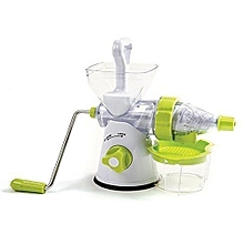 Manual Fruit and Vegetable Juicer (White And Green)