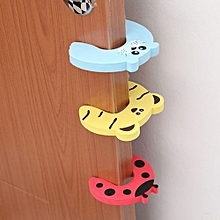 Baby Kids Safety Protect Anti Hit EVA Door Clamp Safe Card Door Stopper