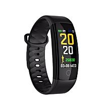 TF7 Smart Bracelet Heart Rate Bracelet Sleep Monitoring Waterproof Sport Watch black