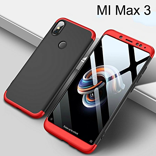 super popular cb587 bb993 For Xiaomi Max 3 Case 360 3in1 Full Protection Hard Casing Back Cover For  Xiaomi MI Max 3 Housing Shell 486635 c-2 (Color:Main Picture)