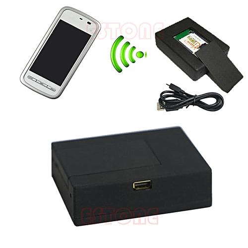 Wireless Mini Audio GSM Bug Spy SIM Listening Surveillance Device Dual Mic Box