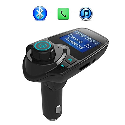 Bluetooth FM Transmitter Wireless Car Radio MP3 Adapter Car Kit USB Car  Charger Aux Input SD Card Slot Hands-free Calling By HT