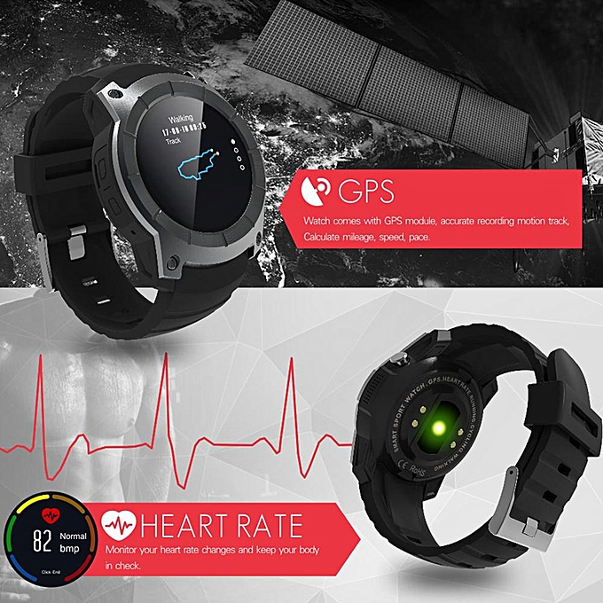 32331c593 ... S958 watch men Smart Watch Heart rate monitoring Support SIM card GPS  WiFi Smartwatch For Android ...