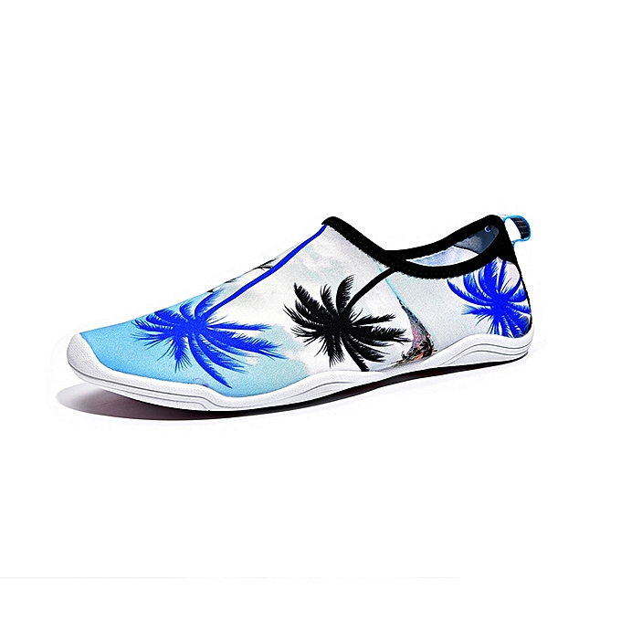 617c5da8176d Print Beach Shoes Swimming Yoga Shoes Slip On Hiking Treadmill Driving  Loafers