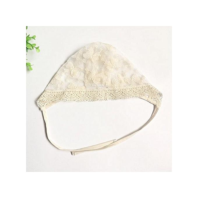 12cd59fd997fc Fashion Kid Princess Girls Hat Beanie Convertible Lace Gauze Cap Flanging Sun  Hat