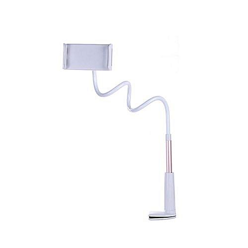 Flexible Desktop Phone Stand Holder Lazy Bed Tablet Rack For IPad Tablet - Rose Red (110cm)