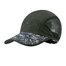 Summer Sun Trekking Sports Quick-drying Breathable Baseball Sports Caps(Green)