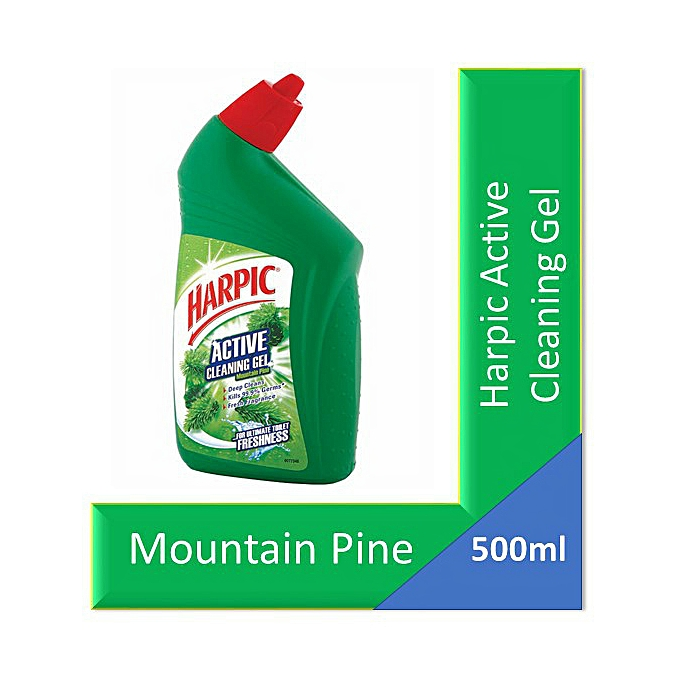 Harpic Active Cleaning Gel Mountain Pine 500ml Best Price