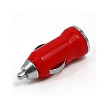 Bullet Car Charger - Red