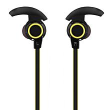 Bluetooth headset-yellow