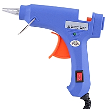 Hot Melt Glue Gun With 12pcs Glue Sticks Dent Repair Tools US Plug 100V-220V (20W, 7mm Sticks)