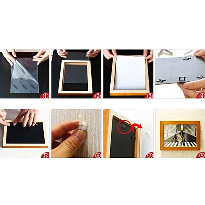 Buy Generic Fang Fang 6\'\' Solid Wood DIY Poster Frame Photo Frames ...