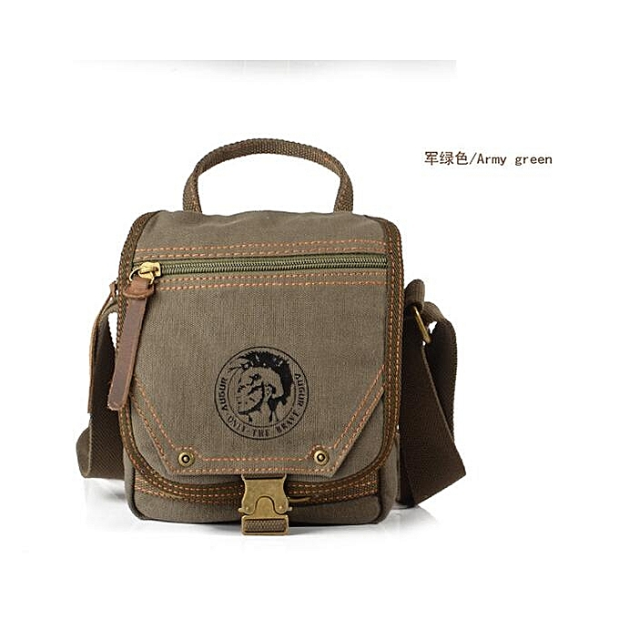 New Canvas Bags Men S Travel Bag Messenger Mini Size