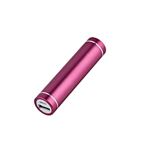 OR Portable USB Mobile Power Bank Charger Pack Box Battery Case for 1 x 18650-rose