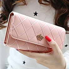 Technologg Wallet  Women Girls Cute Fashion Coin Purse Wallet Bag Change Pouch Key Holder-as Show