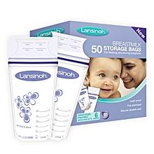 Breastmilk Storage Bags, 50 Count Convenient Milk Storage Bags for Breastfeeding