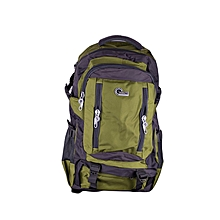 Waterproof Nylon Backpack - Outdoor Sports Hiking Bag - Gym Bag - Folding Bag - Green
