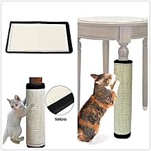 44*30CM Pet Cat Kitten Corner Wall Scratcher Scratching Sisal Post Board Mat Pad Toys