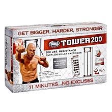 200 resistance bands door fitness machine