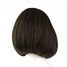 Korean Style Full Lace Human Short Hair Wigs Women Front Wig Curl Hair