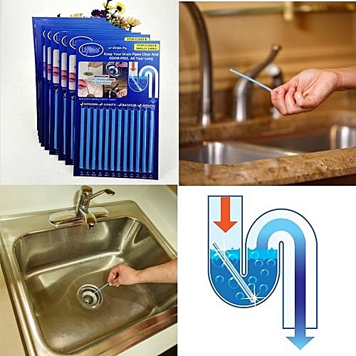 SANI STICKS KEEPS YOUR DRAINAGE CLEAN AND ODOURLESS