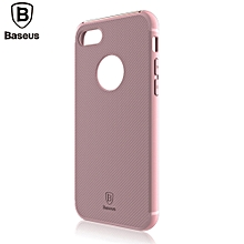 Hermit Bracket Case Convenience Phone Shell For IPhone 7 4.7 Inch - Pink