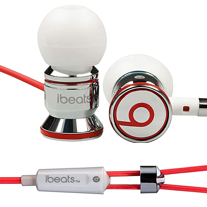827c9729d58 ... Monster Beats by Dr Dre iBeats 3.5mm Wired Headset In Ear Stereo Music  Headphones Smart ...