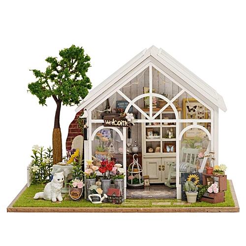 Buy Generic Diy Dollhouse Miniature Furniture Kit Led Kids Birthday