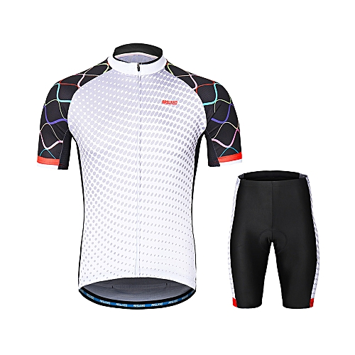 Generic ARSUXEO Men s Cycling Clothing Set Short Sleeve Set Quick-dry Shirt  3D Cushion Padded Short Pants   Best Price  e18897622