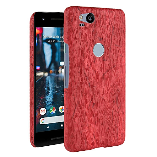 save off 8da54 34508 Pixel 2 Case, [wood Texture] PU Leather + Hard PC Protective Case Cover for  Google Pixel 2