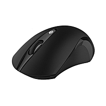 USB referred to as mini warm hand wireless mouse 1600DPI ergonomic wireless mouse for Mice Gamer for Computer Desktop (Black)