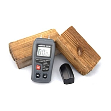 BSIDE EMT01 Digital Moisture Meter Timber Hygrometer Humidity Tester Timber Damp Detector 0~99.9% MT10 - GRAY