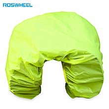Bicycle Rear Rack Bag Rain Cover Dust Protector Biking Cycling Gadget - Fluorescent Green