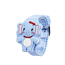 d72b0106abf Fashion Silicone Children Kids Watch LED Digital Electronic Flip Watch