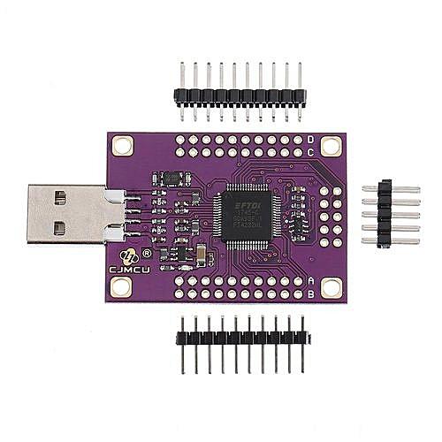 CJMCU-4232 FT4232HL USB To RS232/RS485/RS422/UART/JTAG/SPI/I2C Serial  Module Board