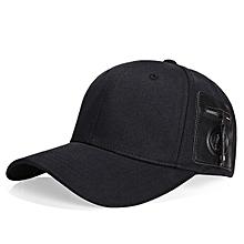 Mens Womens Fashion Cotton Baseball Hats Outdoor Sports Quality Zipper Decoration Trucker Cap