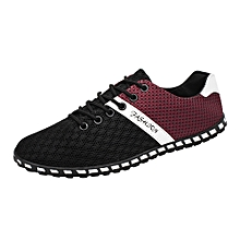 New Style Fashion Men Casual Mesh Comfortable Breathable Sneakers Flat Shoes