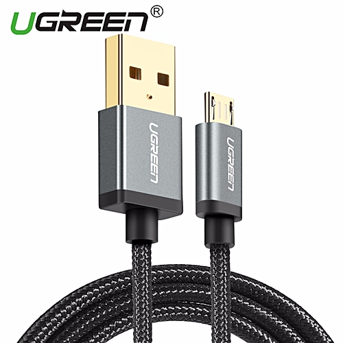0 5Meter Micro USB Cable Nylon Braided Fast Quick Charger Cable USB to  Micro USB 2 0 Cord for Samsung Huawei Xiaomi Oppo Vivo, LG, Nexus, Nokia