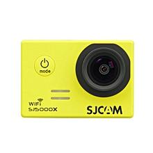 SJ5000 - 4K WiFi Sport DV Camera 2 Inches LCD Display - Yellow