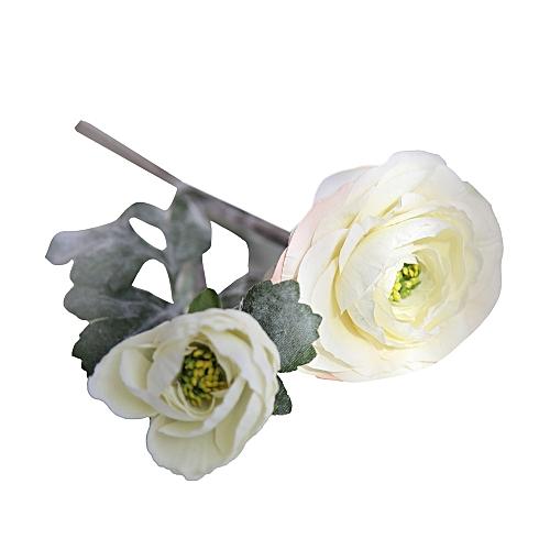 Muyi Artificial Silk Fake Flowers Daisy Lotus Wedding Bouquet Party