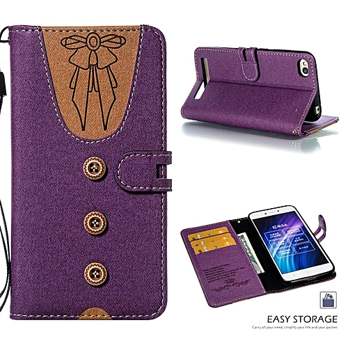 quality design ac1d1 f2ddc Redmi 5A Case,Cute Lovely Style Premium Jeans Denim Splice Hit Color  [Butterfly Knot] Pattern PU Leather +Soft TPU Wallet Stand Flip Case For  Xiaomi ...