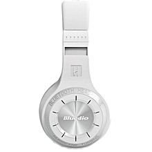 H+ Bluetooth 4.1 Wireless Headphones Headset White