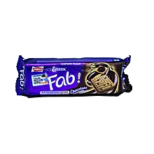 Fab Chocolate Biscuit 112g